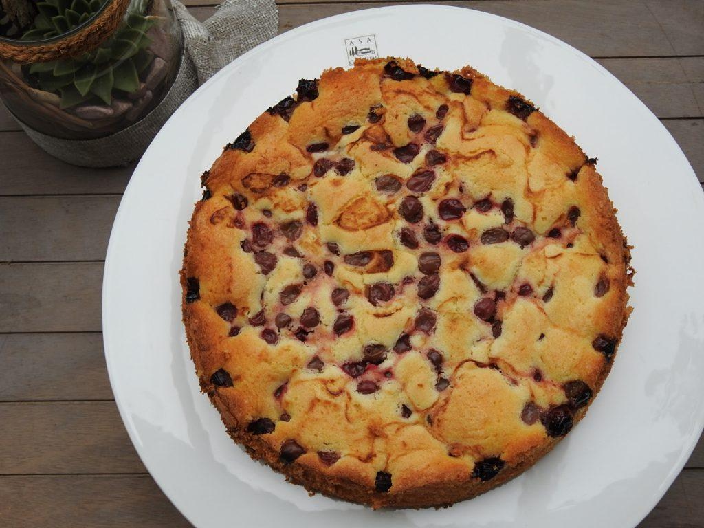 Stachelbeer-Quarkkuchen