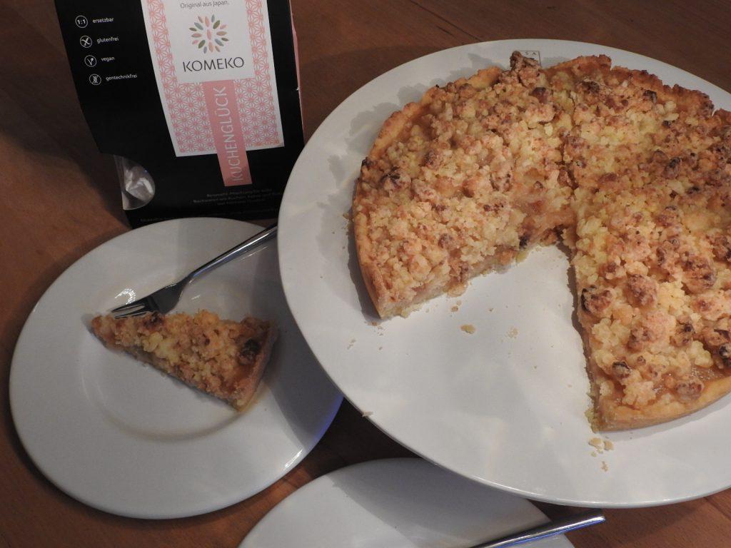 Backtest mit Komeko glutenfreie Reismehl-Mischung