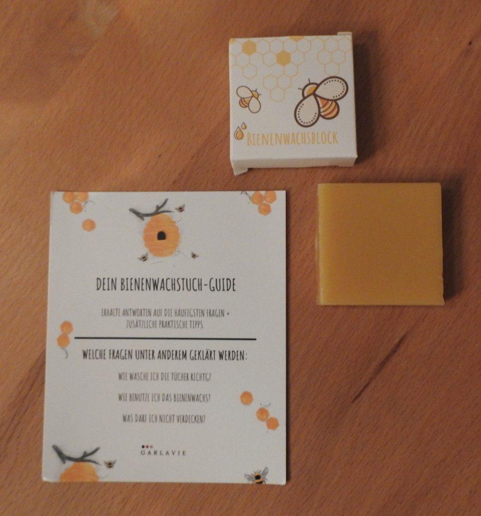 Bienenwachstücher - Was will man mehr?