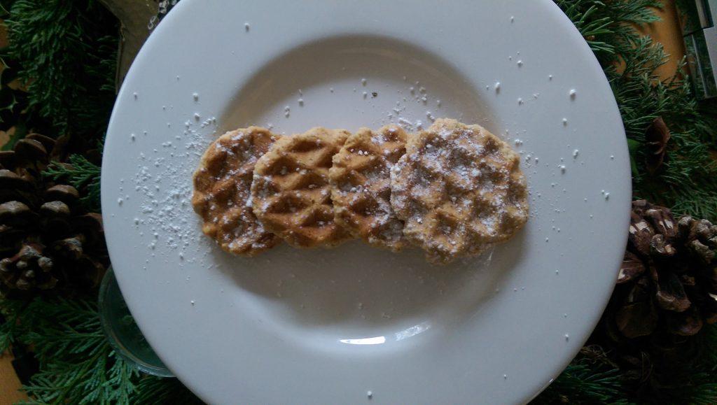 glutenfreie Waffelkekse