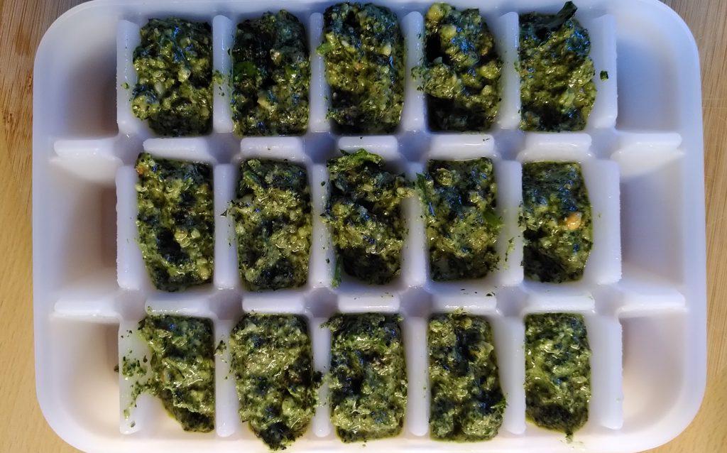 Bärlauch Pesto mit Walnüssen (1)
