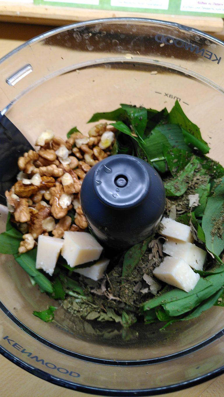 Bärlauch Pesto mit Walnüssen (3)