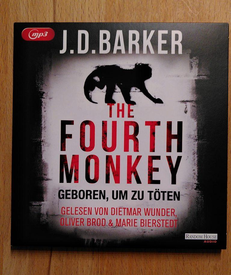 J. D. Barker - The Fourth Monkey Hörbuch