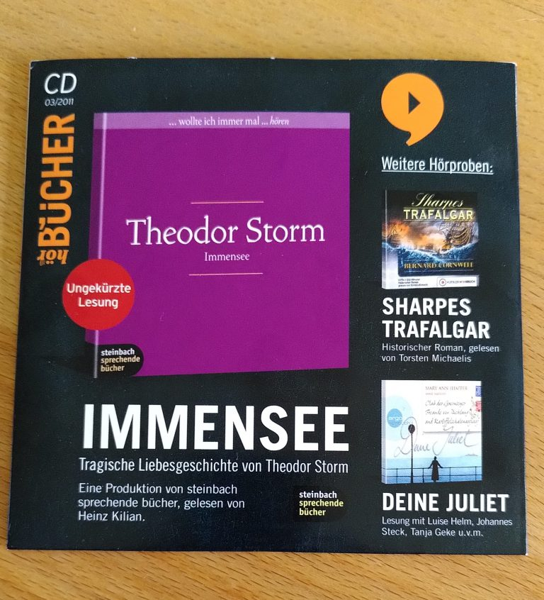 Theodor Storm - Immensee