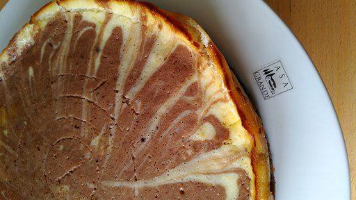 Marmorierter Käsekuchen - Lecker mit Quark