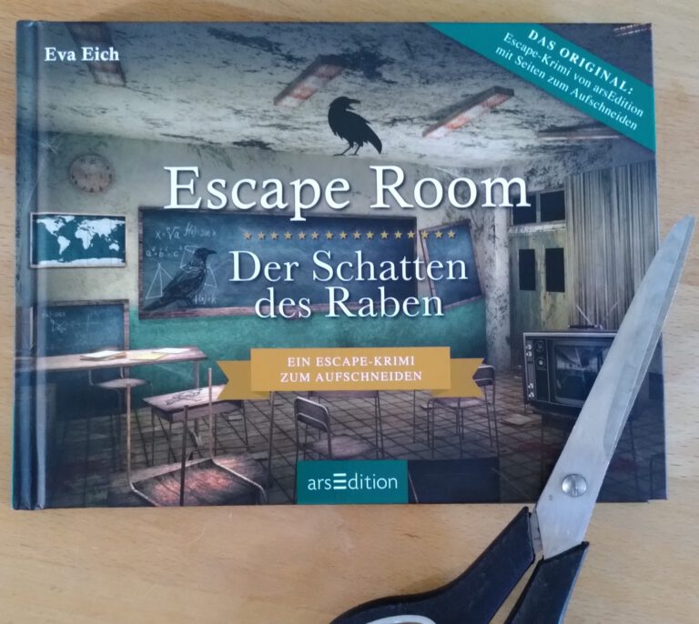 Eva Eich - Escape Room - Der Schatten des Raben